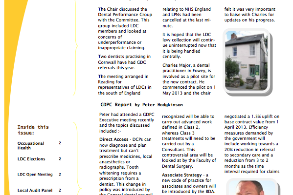 CIOS Newsletter June 2013